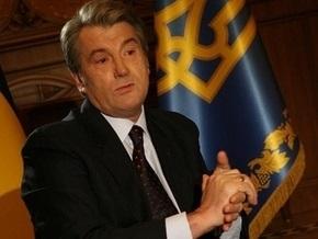 Ющенко поговорил по телефону с президентом ВБ
