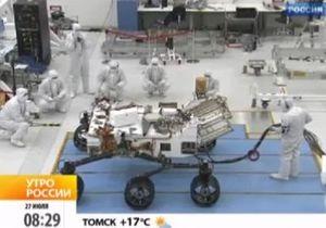 NASA испытало марсоход Кьюриосити