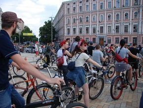 Киевские велосипедисты 24 мая проведут Всеукраинский велодень
