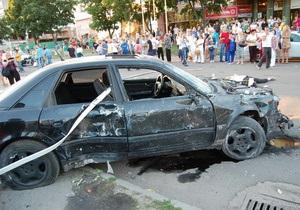 Новости Сум - дтп в Сумах - МВД Украины -Водитель автомобиля, который в Сумах снес остановку, ранее отсидел 12 лет за убийство