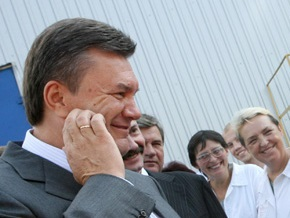 Янукович встретился с регионалами-скандалистами