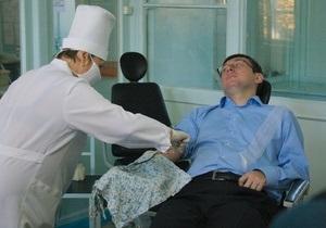 13 дней голодовки: Луценко попал под капельницу