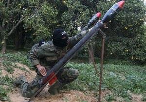 Палестинские боевики выпустили пять ракет по югу Израиля
