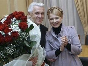 Тимошенко призналась, что с Литвином ей работается лучше, чем с Яценюком