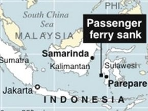 У берегов Индонезии продолжается спасательная операция