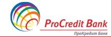 Специальное предложение для юридических лиц и частных предпринимателей от ПроКредит Банка