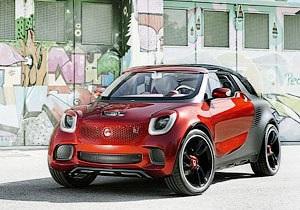 Daimler выпустит кроссовер Smart