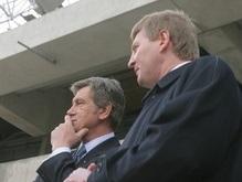 СМИ: Ющенко три часа провел в доме Ахметова