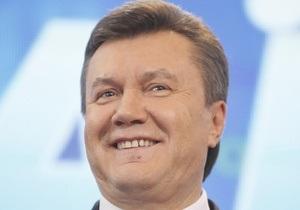 Янукович поздравил Дмитрия Колесникова с днем рожденья