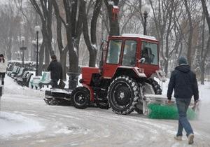С начала зимнего сезона из Киева вывезли более 130 тысяч тонн снега