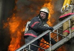 В Москве произошел пожар в здании Минобороны