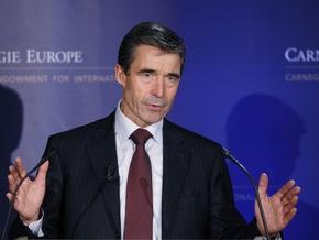 Расмуссен: Россия не представляет опасности для НАТО