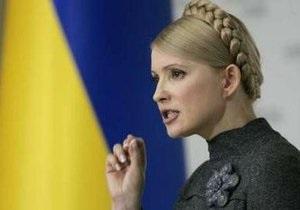 Тимошенко готова оспаривать результаты грядущих выборов в судах (обновлено)