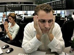 Европейские рынки открылись резким падением