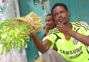 Жвачку из Сомали не сочли наркотиком в Британии