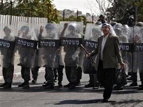 В Иерусалиме произошли столкновения между палестинцами и полицией
