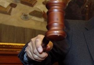 В Мукачево к шести годам тюрьмы приговорили сына бывшего замгубернатора
