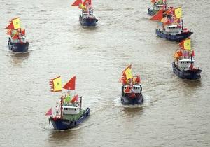 11 патрульных кораблей КНР вошли в зону спорных островов. Китай заявляет, что оставляет за собой право на дальнейшие действия