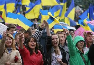 Все больше украинцев отдают предпочтение отношениям с ЕС, а не с Россией - опрос