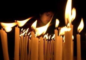 В Киев привезли Вифлеемский огонь