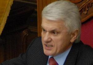 Нардепы приступили к закону о выборах. Литвин заявил, что БЮТ позорит Раду