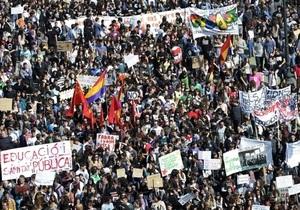В Испании проходят массовые манифестации против жестких мер экономии