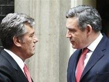 Ющенко попросил у британцев помощи в подготовке милиции к Евро-2012