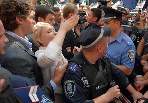 Тимошенко считает, что к ее делу должна быть привлечена российская сторона