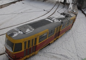 В Харькове троллейбусы и трамваи не вышли на маршруты