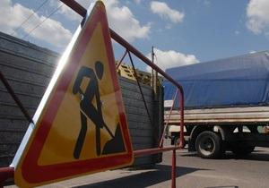 В Киеве завтра частично ограничат движение по 20 улицам и Московскому мосту