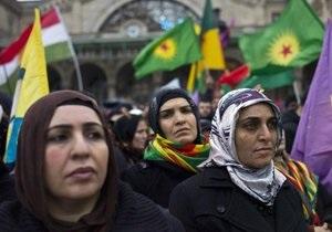 Новости Франции - Новости Парижа - Убийство курских женщин - Митинг в Париже