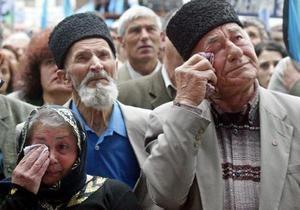 Крымские татары во время траурного митинга будут требовать отставки Могилева