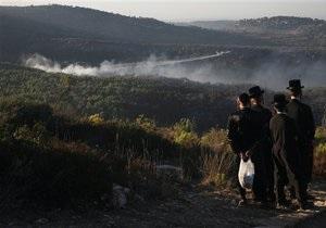 В Израиле ликвидировали крупнейший в истории страны пожар