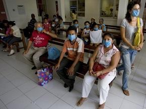 Меньше чем за сутки количество больных свиным гриппом увеличилось на 272 человека