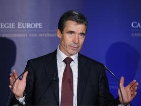 Расмуссен: Доклад ЕС по конфликту на Кавказе не повлияет на путь Грузии и Украины в НАТО