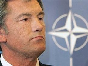 Ющенко не видит альтернативы вступлению в НАТО
