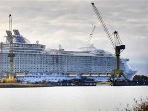 Крупнейший в мире круизный лайнер сдан в эксплуатацию