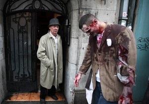 По улицам Нью-Йорка прошлись зомби