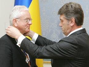 Ющенко вручил Поттерингу орден за правду о Голодоморе
