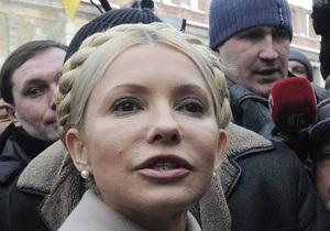 Тимошенко заявила, что сегодня ее могут арестовать
