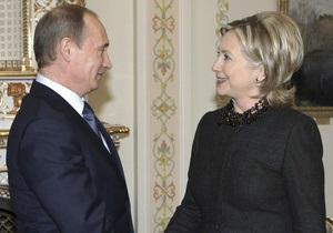 Путин рассказал Клинтон, как проходила дискуссия по теме ПРО на даче у Буша в 2007 году