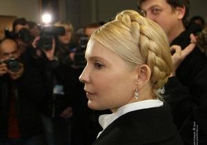 Тимошенко надеется, что судьи вынесут правомерное решение по Луценко,  даже если самим страшно