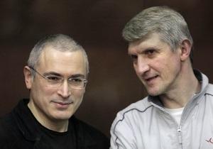 Еще одно продление срока ареста Ходорковскому и Лебедеву признано незаконным