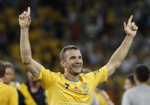 DW: Украинцы выиграли благодаря нестареющему идолу Шевченко
