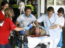 Фотогалерея: Последний полет МD82. Трагедия в аэропорту Мадрида