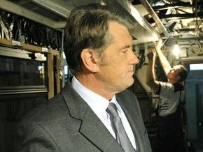 Сегодня Ющенко посетит хлебозавод и табачную фабрику