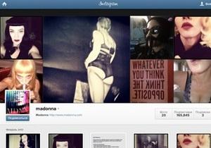 Instagram пригрозил удалить аккаунт Мадонны