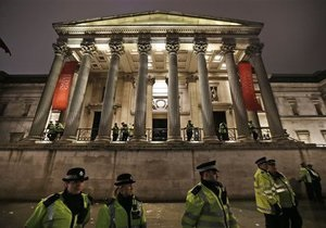 Новости Великобритании - странные новости: Растроенный разводом британец повредил картину в лондонской галерее