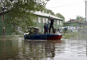 Потоп в Амурской области: по деревне на лодке