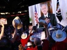 Буш призвал голосовать за Маккейна: Он готов повести за собой нацию
